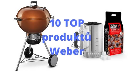 10 nejprodávanějších produktů Weber
