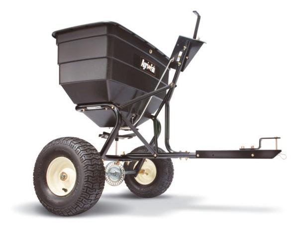 Rotační rozmetadlo - přípojné za zahradní traktor