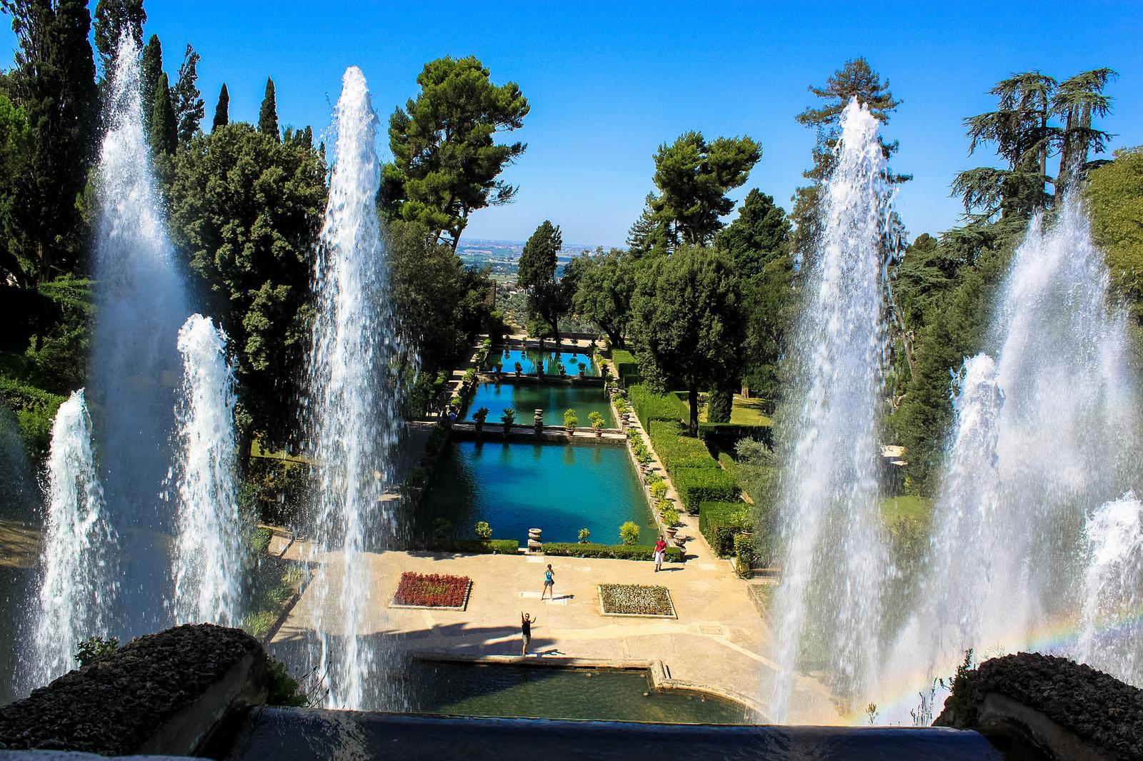 Villa d'Este, Tivoli - autor:  Andy Hay