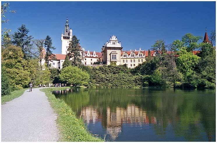 Průhonický park a zámek - foto: Zdeněk Pražák