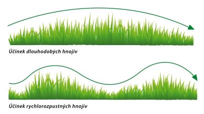 dlouhobé hnojivo
