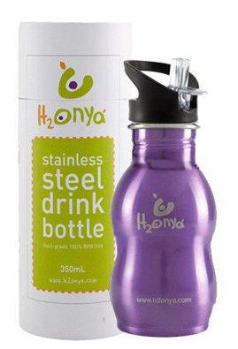 láhve Onya H2Onya (0,35 l) - fialová