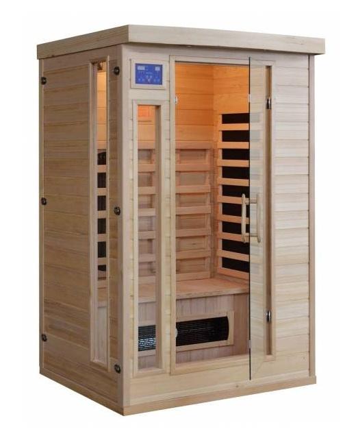 Infra sauna HealthLand DeLUXE 2220 CB/CR