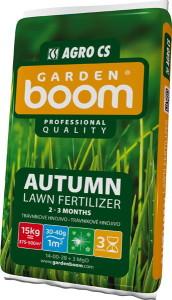 Trávníkové hnojivo Garden Boom Autumn 15 kg