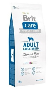 Granule Brit Care Adult Large Breed Lamb & Rice 12 kg