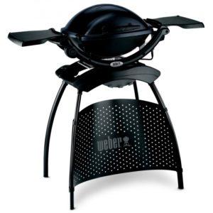 Elektrický gril Weber Q 1400 Stand, tmavě šedý