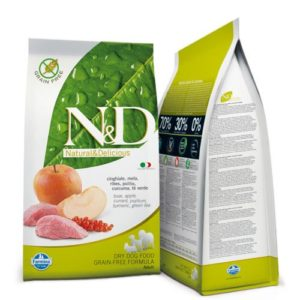 N&D Grain Free DOG Adult Boar & Apple 2,5kg