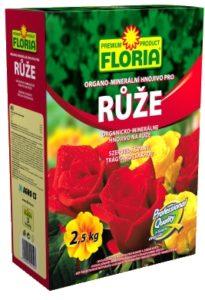 Organo - minerální hnojivo pro růže